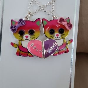 Justice Best Friends Necklace Set of 2 for Girls